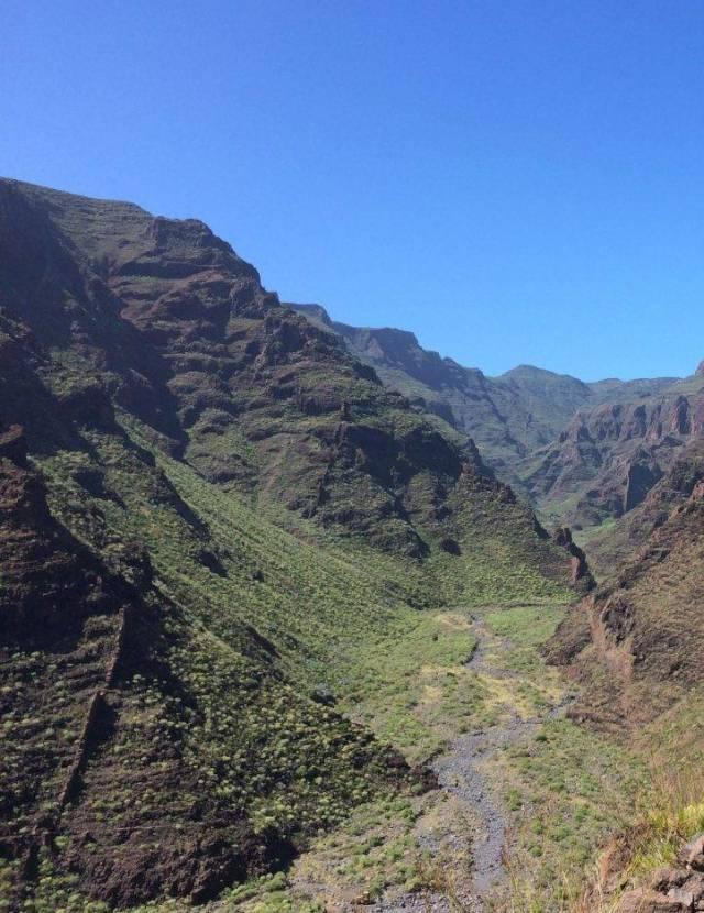 Schluchten auf La Gomera