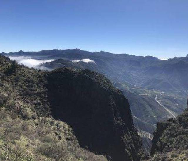 Wanderung an der Wettergrenze nach Artenara