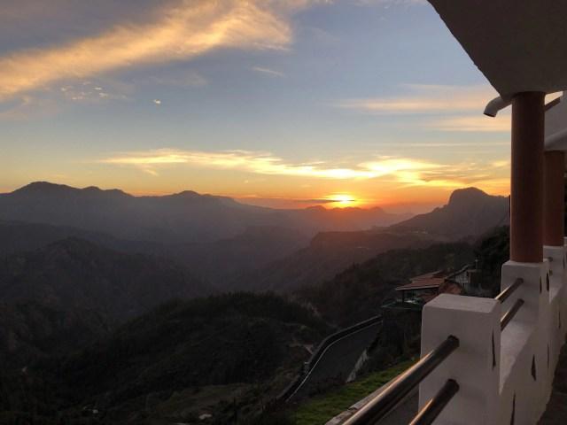 Sonnenuntergang in Artenara