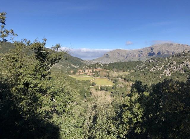 Kloster Lluc in der Serra de Tramuntana auf Mallorca