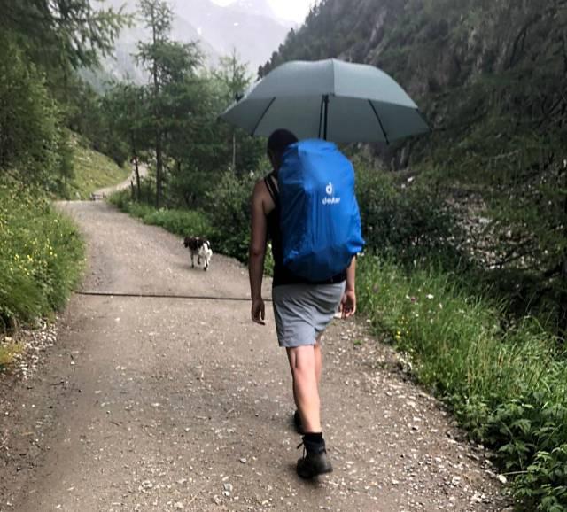 Handsfree Regenschirm