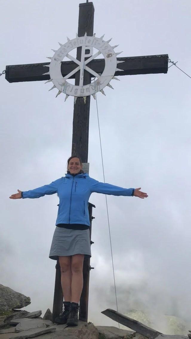 Abstecher zur Rötelspitz auf der Rundwanderung Spronser Seen