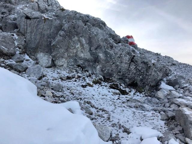 Schnee am Watzmann