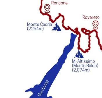 3. Teilstrecke Sentiero della Pace