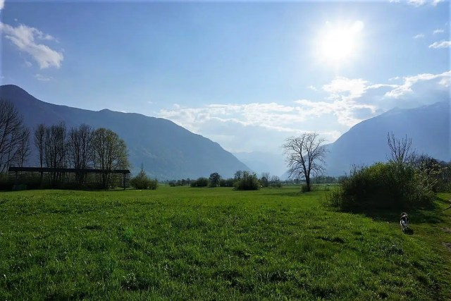 Alpe Adria Trail - Abendstimmung