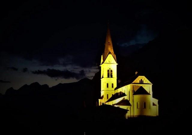Dreznica bei Nacht