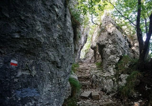 Aufstieg zum Monte Altissimo
