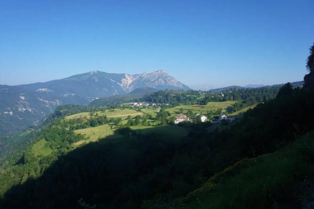Hochebene im Trentino