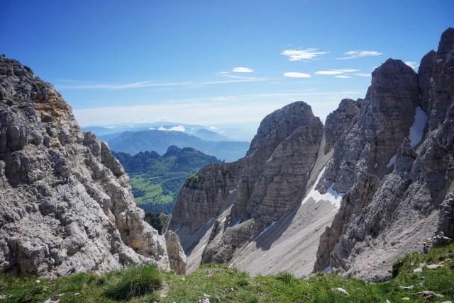 Vizentiner Alpen auf dem Friedensweg
