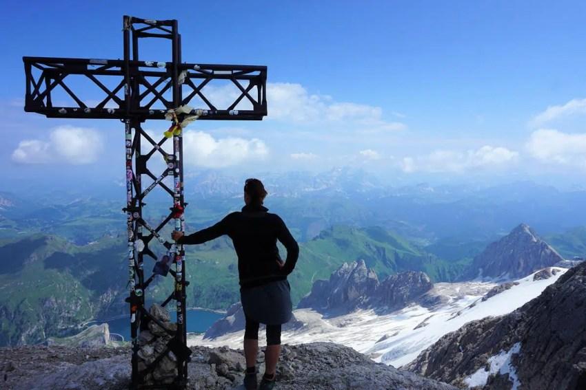 Gipfel Marmolada