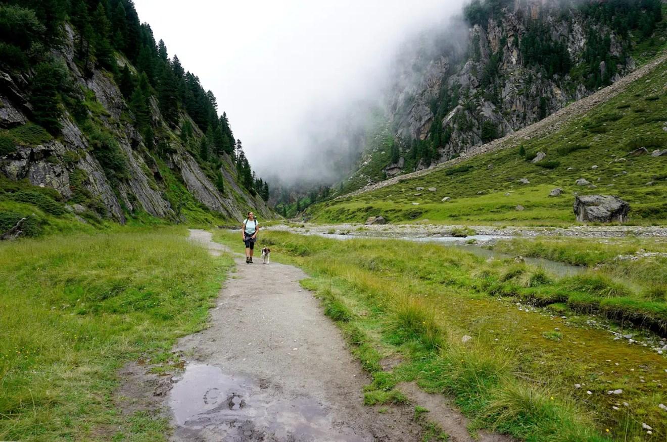 Weg zur Sulzenauhütte