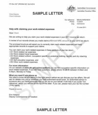 ATO Work Expenses Letter sent to 300,000 Australians