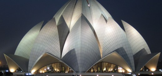 Lotus Temple in Delhi: An Extraordinary Architectural design