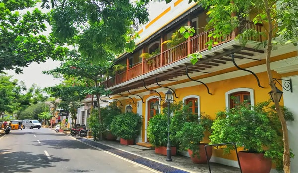 Destinations in India for Budget Travelers-Pondicherry