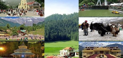 Places to Visit in Himachal Pradesh