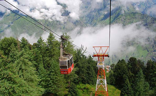 Travel to Mussoorie-Cable ride