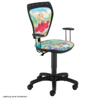 Desk chair children swivel chair children girls Princess ...
