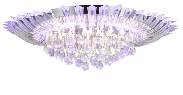 LED Deckenlampe Wohnzimmer Lampe Deckenleuchte Farbwechsel Fernbedienung Leuchte  eBay