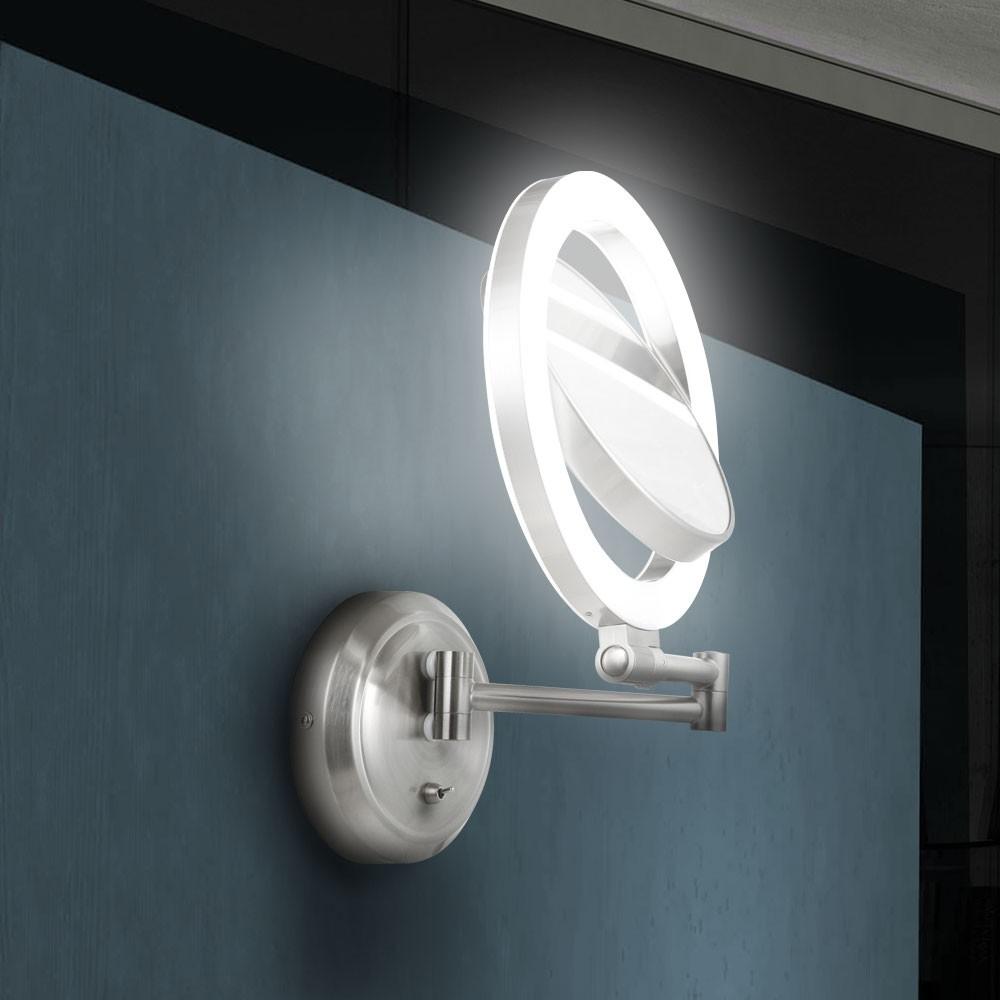 Badezimmer Wandlampe Wandleuchte Schminkspiegel Spiegel Schminken Lampe Leuchte  eBay