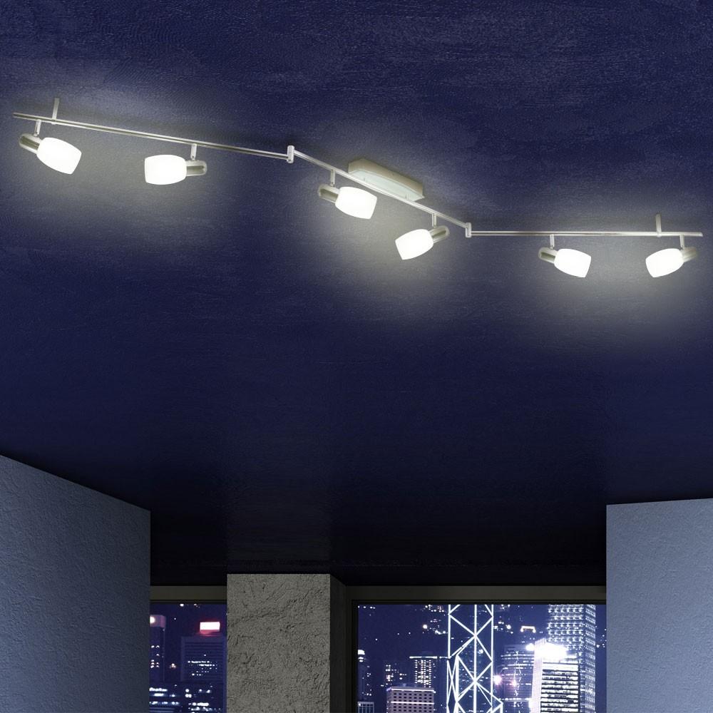 30W LED Deckenbeleuchtung Decken Strahler Deckenleuchte Wohnzimmer Spot Schiene  eBay