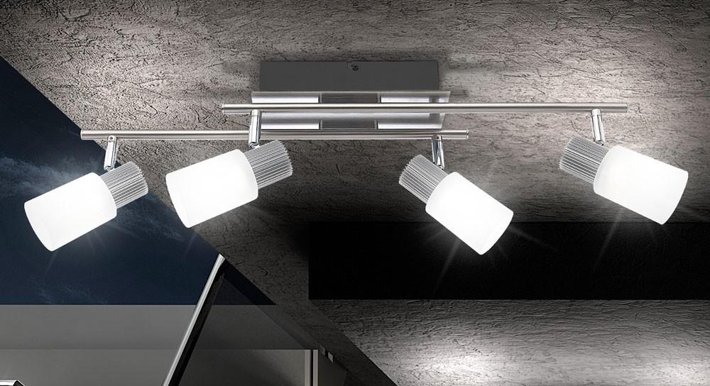 LED Wand Lampe Decken Strahler Wohn Ess Zimmer Beleuchtung Flur Leuchte Spot  eBay