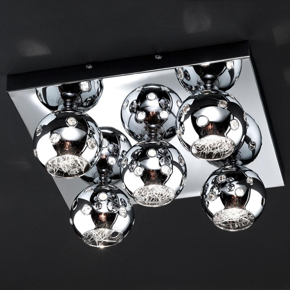 Wohnzimmer Esszimmer Decken Lampe Deckenleuchte inkl Osram