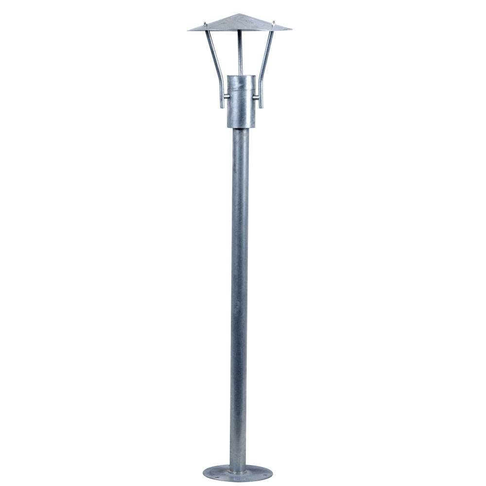 Lampadaire extrieur luminaire acier inox clairage