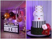 Leidy And Mike' Baby Shower Cake Desserts Elegant