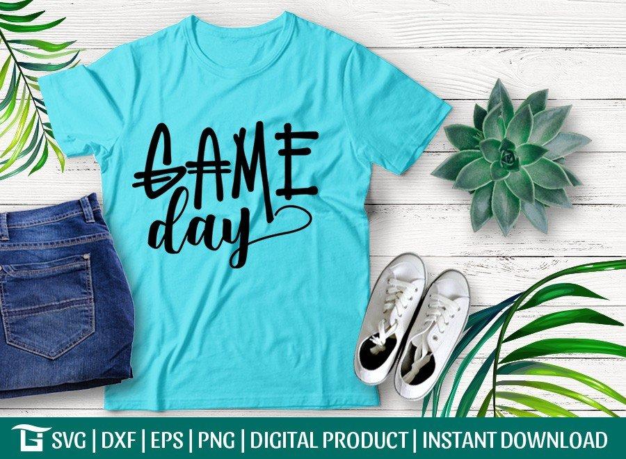 Game Day SVG | Football SVG | T-shirt Design
