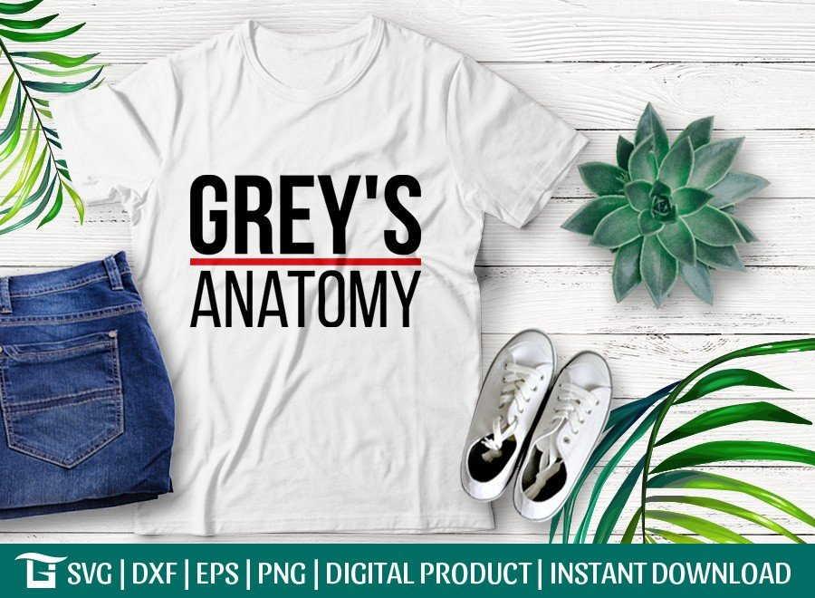 Greys Anatomy SVG | Memorial Hospital SVG | T-shirt Design