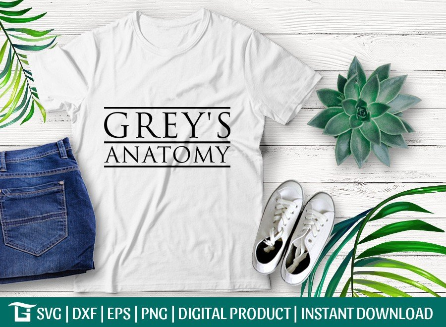 Greys Anatomy SVG | Grey Sloan SVG | T-shirt Design