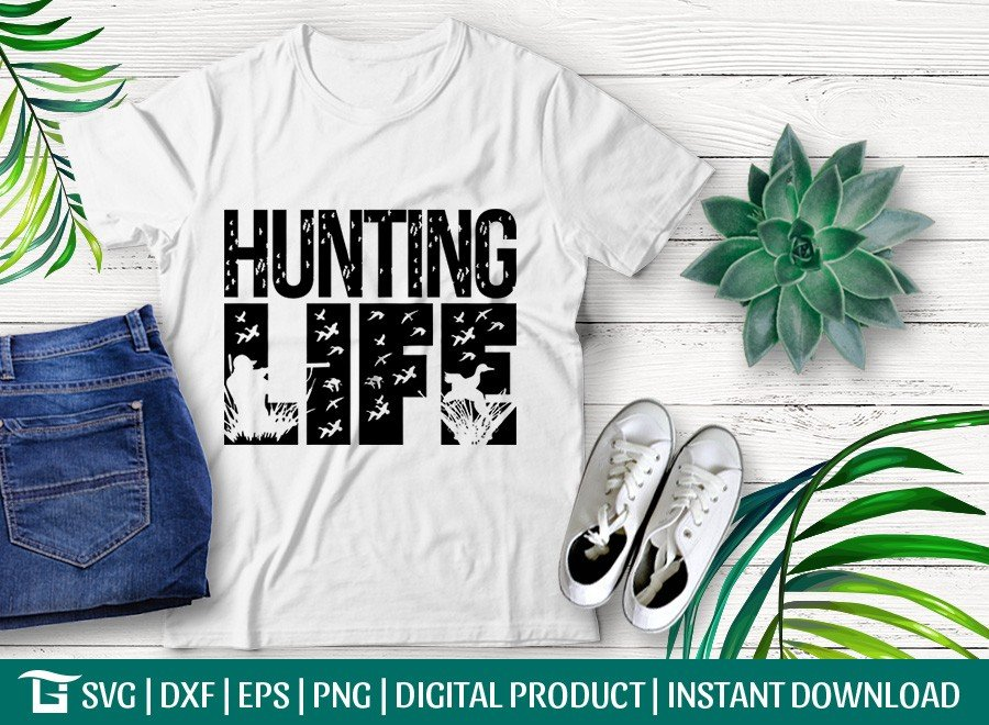 Hunting Life SVG | Bird Hunting SVG