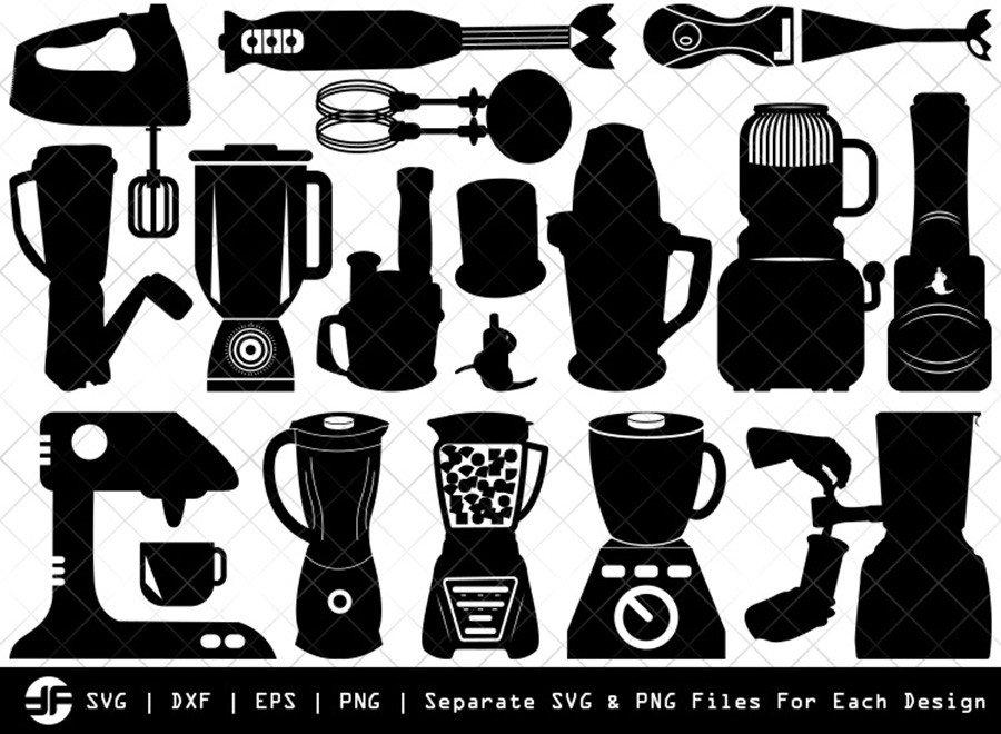 Blender SVG | Blender Silhouette Bundle | SVG Cut File