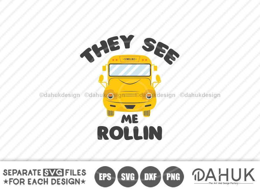 They See Me Rollin, Bus Boss svg