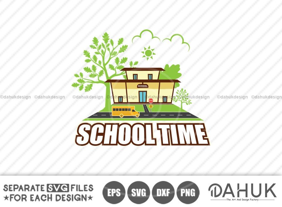 School Time SVG, Back To School SVG