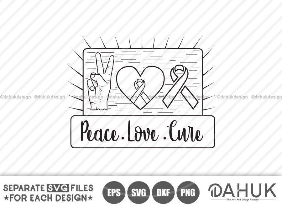 Peace Love Cure, October-Breast Cancer Awareness Month