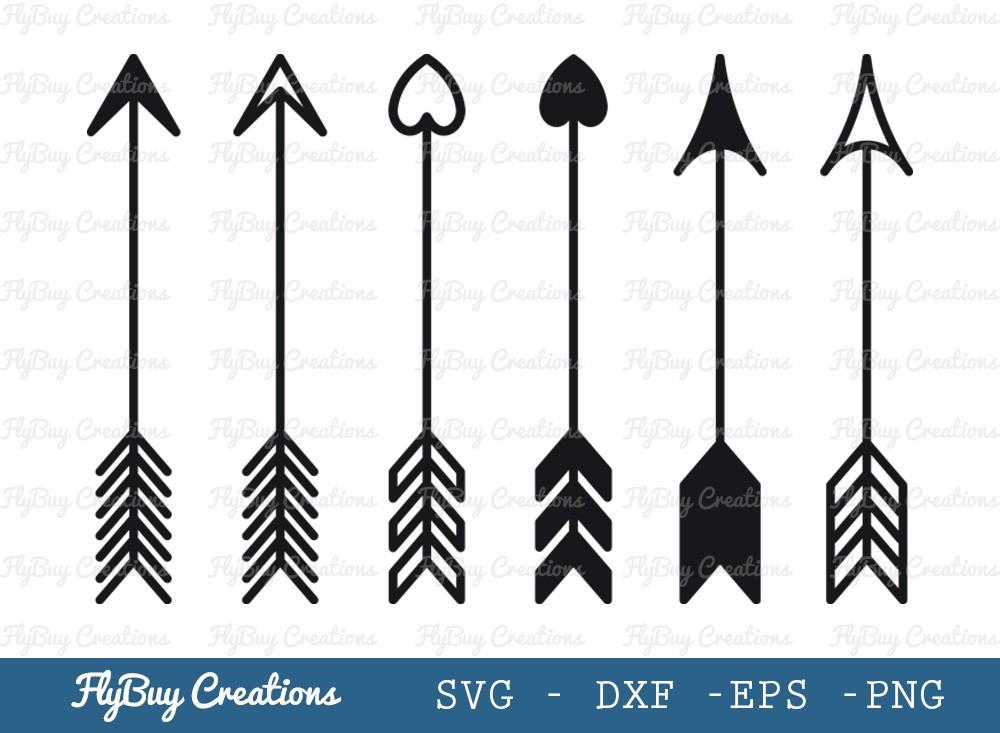 Arrow SVG Cut File | Arrow With Love Svg