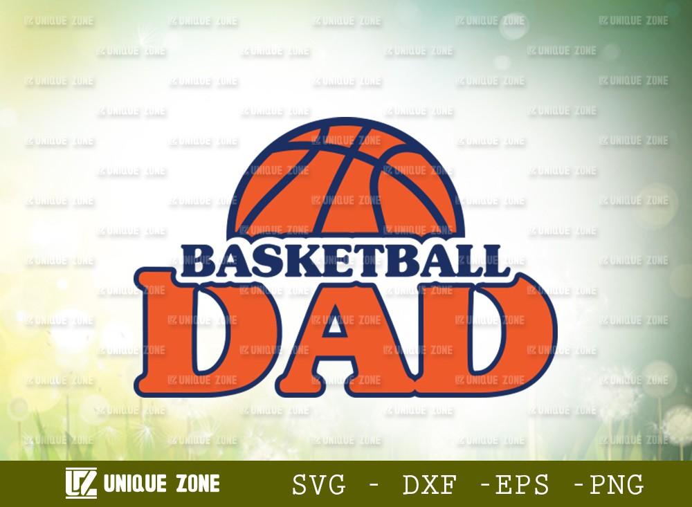 Basketball Dad SVG Cut File | Dad Svg