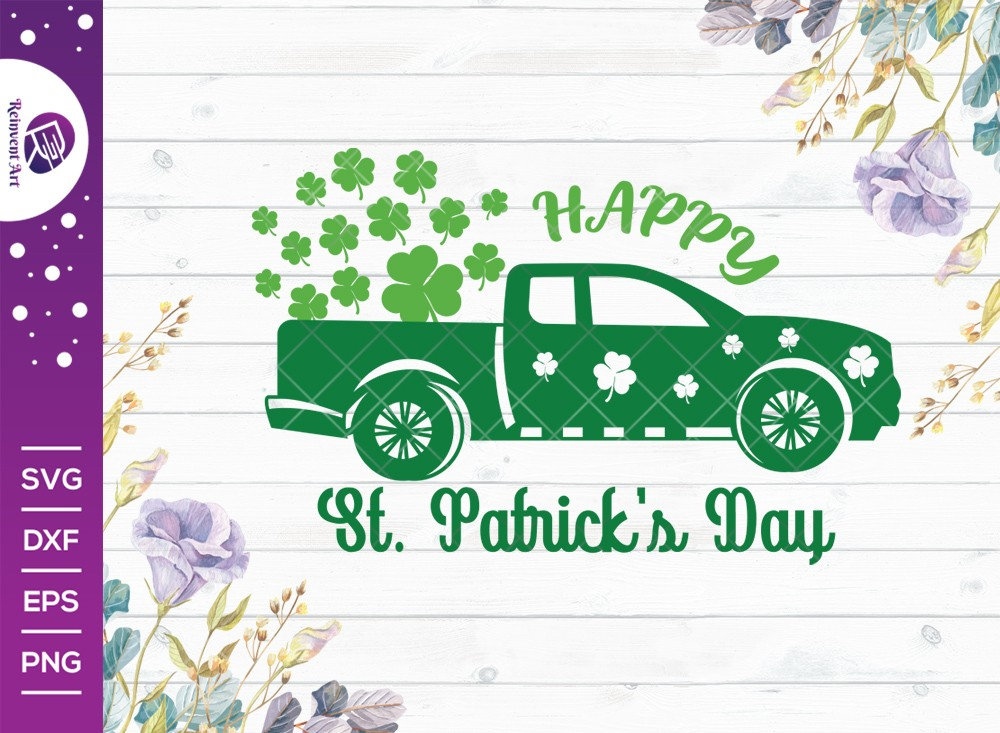 Happy St Patricks Day SVG