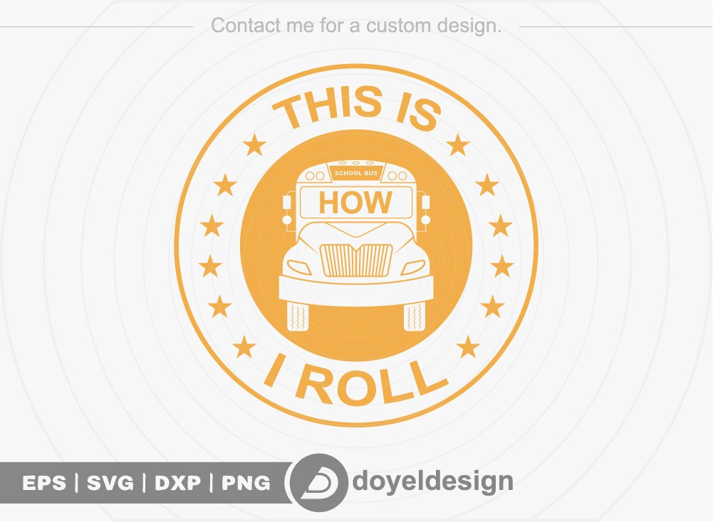 This is how i roll SVG Cut File