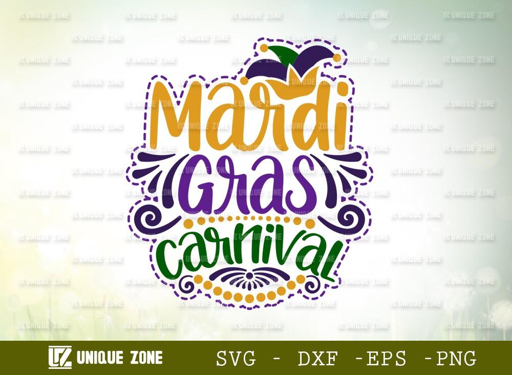 Mardi Gras Carnival SVG