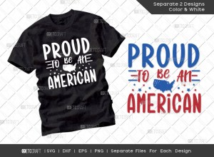 Proud To Be An American SVG | America SVG