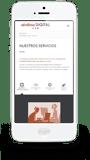 Diseño gráfico y creación de Páginas web en Iphone