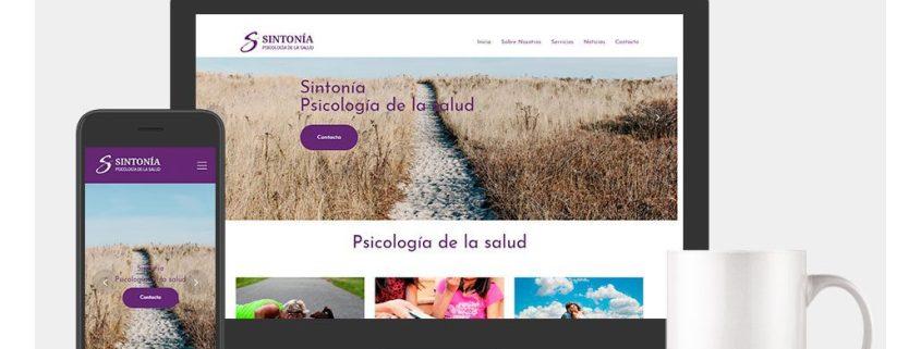 etcDigital | Diseño y Desarrollo Web Psicología Sintonía