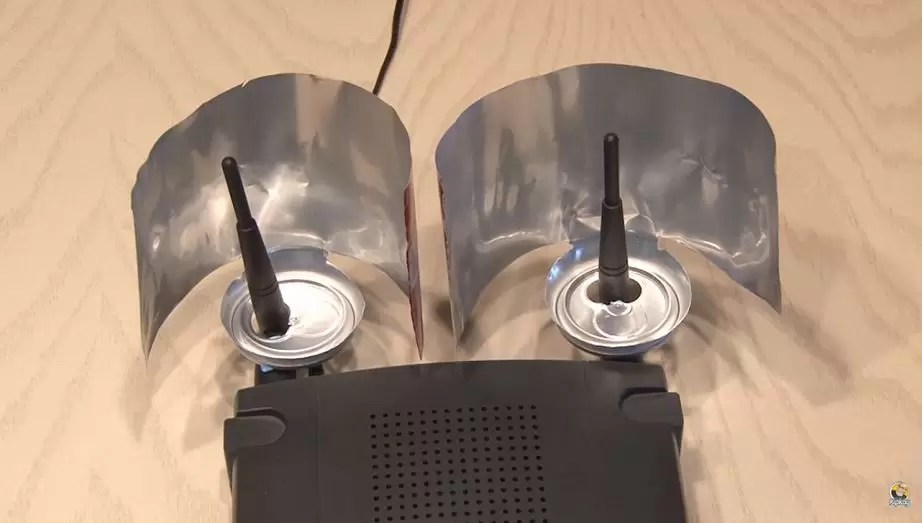 Boost WiFi signals with Beer can