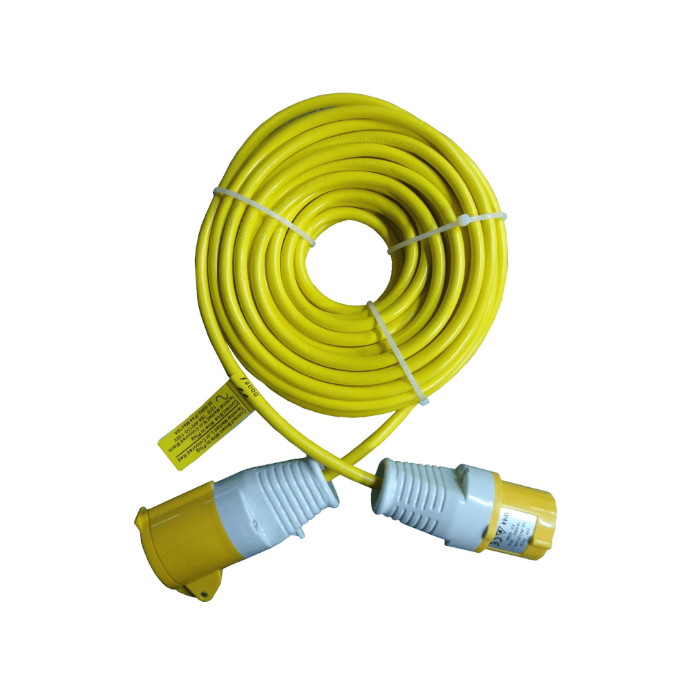 hight resolution of ex series 14 m 110v ac extension lead with 2 5 mm cable thickness 16 32a