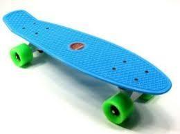 Skateboard in action