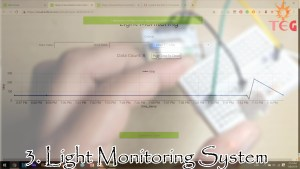 Light monitoring system, one of the top iot projects for beginners