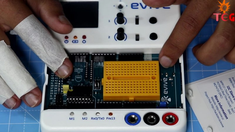Arduino Mega installed on EVIVE