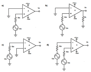 Open Loop Opamp Configuration